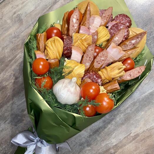 Super-sausage bouquet