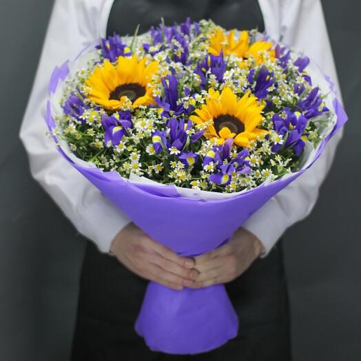 Букет цветов «Лето»