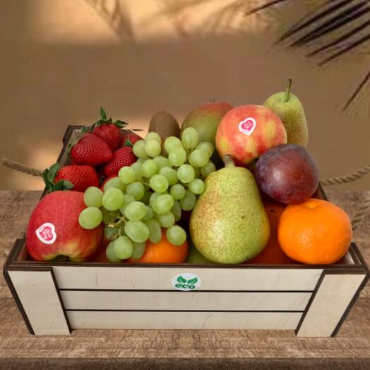 ЭКО ящик из фруктов