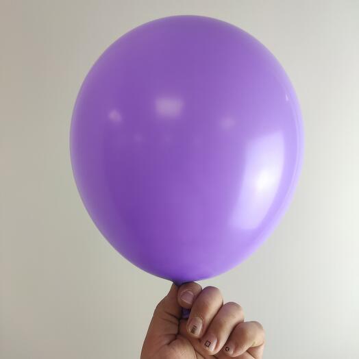 Воздушный шар / Сиреневый пастель