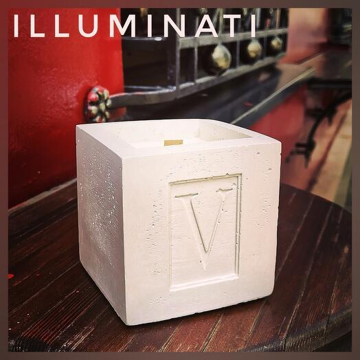 Свеча интерьерная ароматическая V SENSES ILLUMINATI