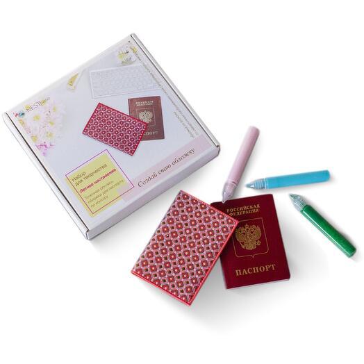 Набор для росписи обложки на паспорт NESTbase «Летнее настроение»