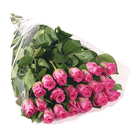 21 pink rose: flowers to order Flowwow
