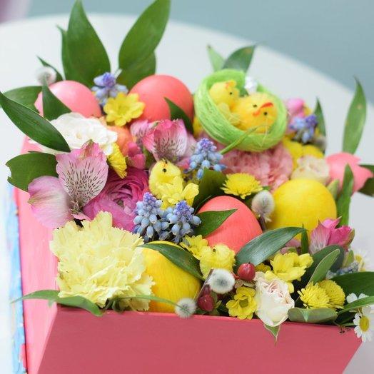 Цыплята на лугу: букеты цветов на заказ Flowwow