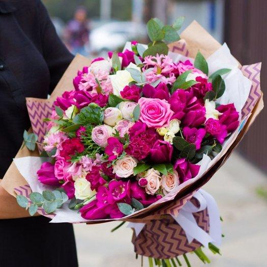 Букет Весенний Восторг: букеты цветов на заказ Flowwow