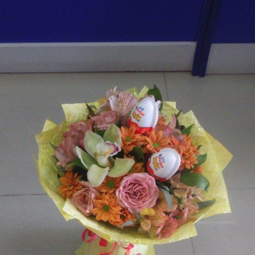 Букетик цветочно сладкий