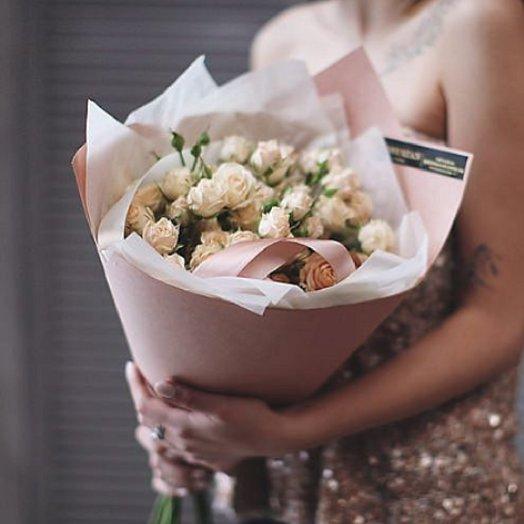 Букет из 11 чайных роз: букеты цветов на заказ Flowwow