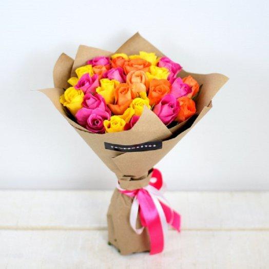 Букет 25 роз кения: букеты цветов на заказ Flowwow