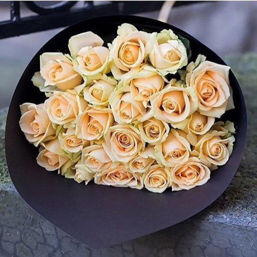 Букет Кремовый: букеты цветов на заказ Flowwow