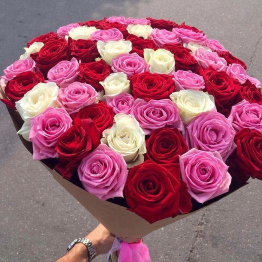 Ассорти 65: букеты цветов на заказ Flowwow