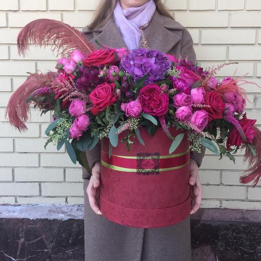 Мадам Помпадур: букеты цветов на заказ Flowwow