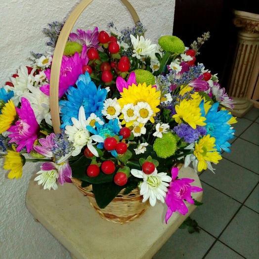 "Композиция ""Буйство красок"": букеты цветов на заказ Flowwow"