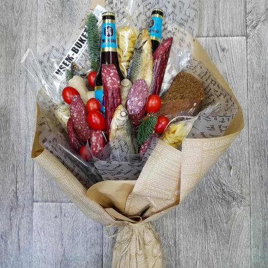 Продуктовый Мужской: букеты цветов на заказ Flowwow