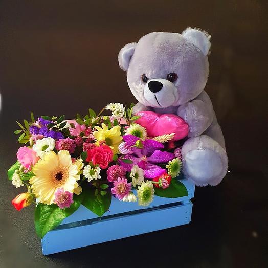 С любовью 🧡: букеты цветов на заказ Flowwow