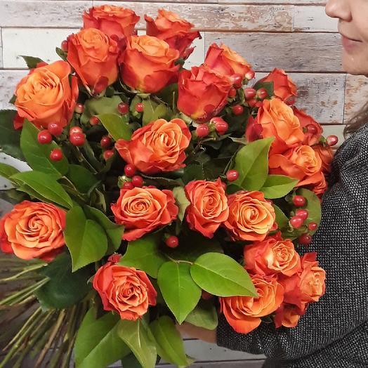Оранжевый Фреш: букеты цветов на заказ Flowwow