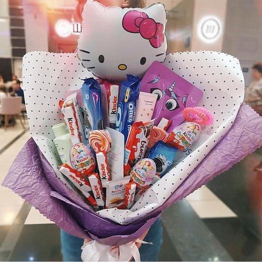 Подарочный букет «Лучший»: букеты цветов на заказ Flowwow