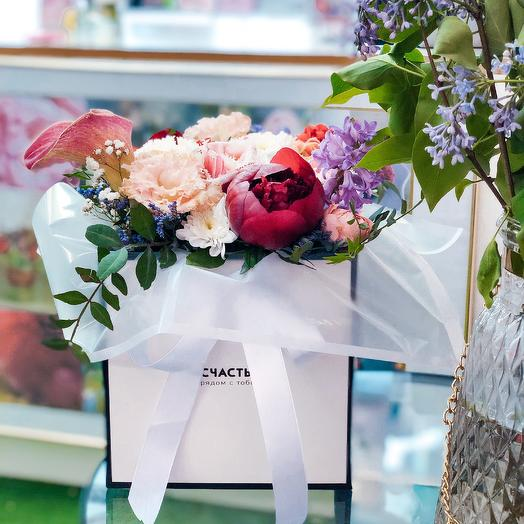 Композиция Счастье: букеты цветов на заказ Flowwow