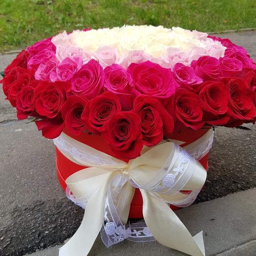 Коробка N 6: букеты цветов на заказ Flowwow