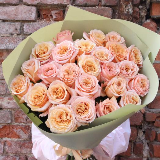 Персики: букеты цветов на заказ Flowwow