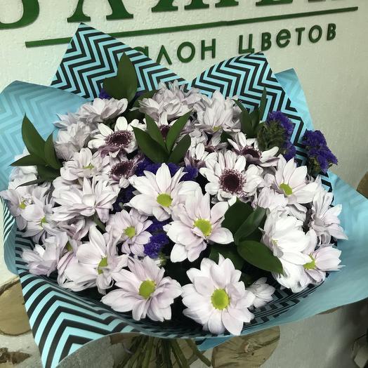 Букет из хризантем (микс): букеты цветов на заказ Flowwow