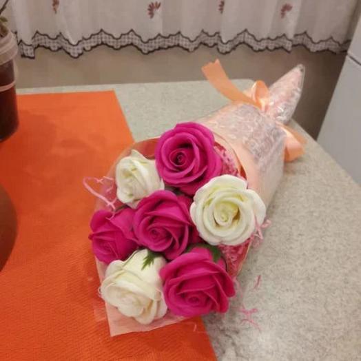 РОЗА ИЗ МЫЛА. Привет: букеты цветов на заказ Flowwow