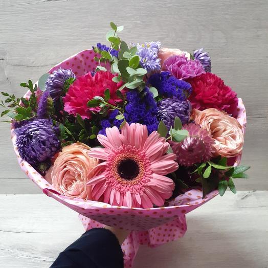 Тайны мегаполиса: букеты цветов на заказ Flowwow