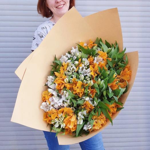 """Букет """"Пылкая любовь"""": букеты цветов на заказ Flowwow"""