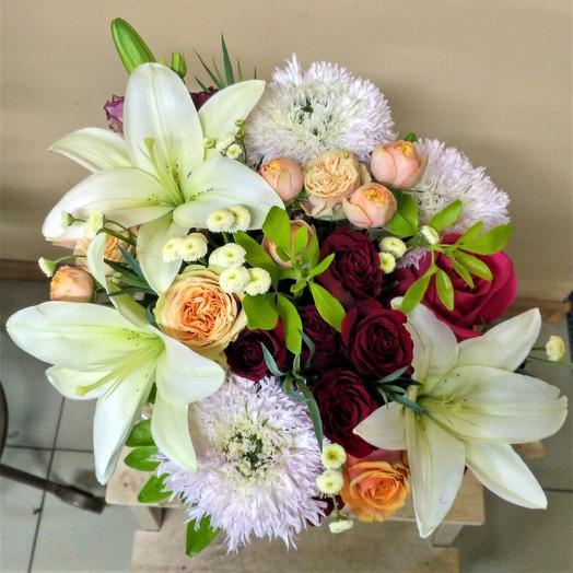 """Букет """"Первый танец"""": букеты цветов на заказ Flowwow"""