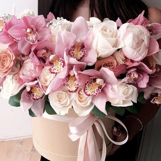 Изысканный восторг: букеты цветов на заказ Flowwow
