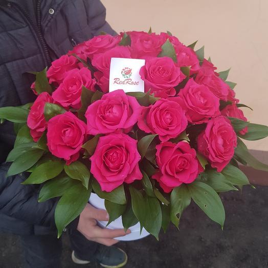 Пылающее сердце: букеты цветов на заказ Flowwow