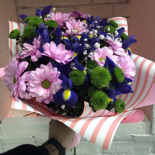 Букет «Узор волны»: букеты цветов на заказ Flowwow