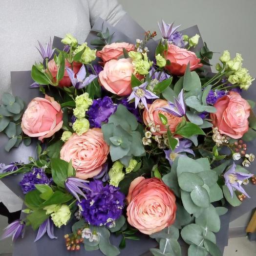 Букет N 21: букеты цветов на заказ Flowwow