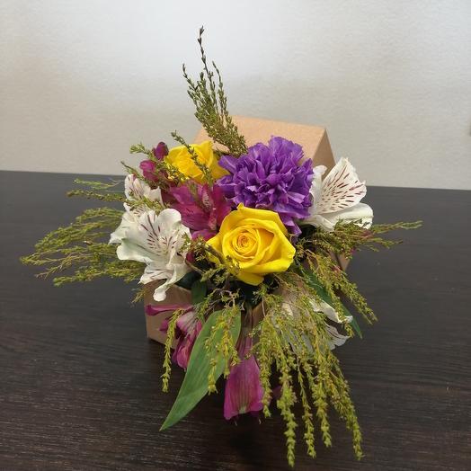 Мужская композиция: букеты цветов на заказ Flowwow