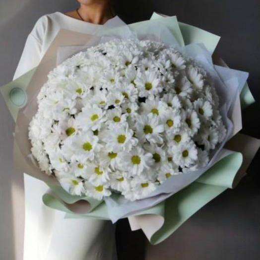 Букет из хризантем 24