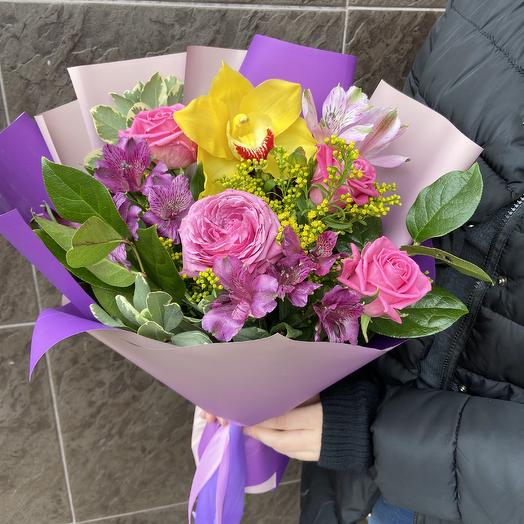Самой красивой💕: букеты цветов на заказ Flowwow