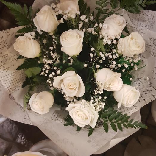 Облако роз: букеты цветов на заказ Flowwow