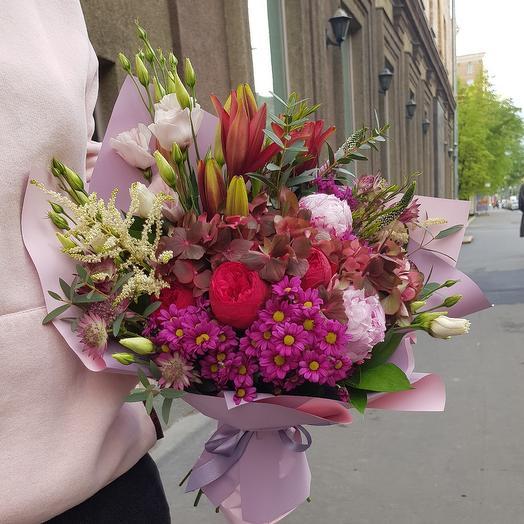 """Букет ДНЯ!!!  """"Искушение"""": букеты цветов на заказ Flowwow"""