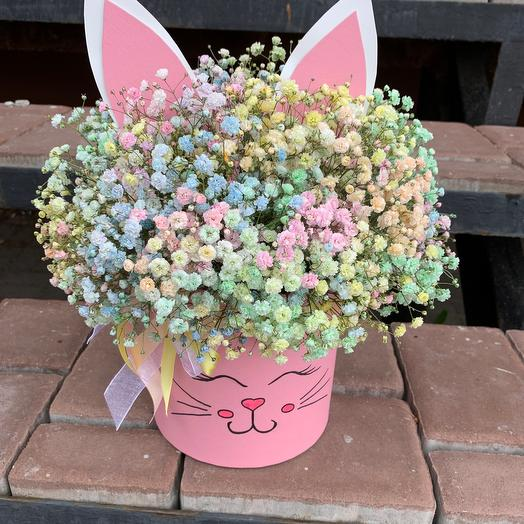Милый зайчик: букеты цветов на заказ Flowwow