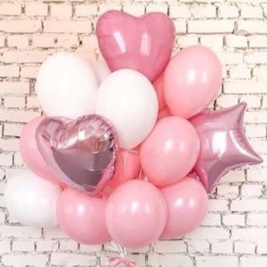 Набор Love pink: букеты цветов на заказ Flowwow
