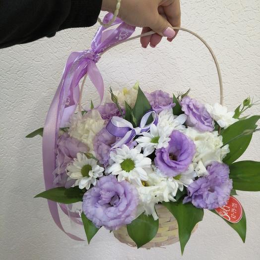 Basket of love: flowers to order Flowwow