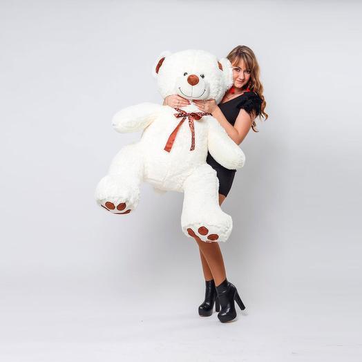 Большой Медведь Тони 150 см (молочный)