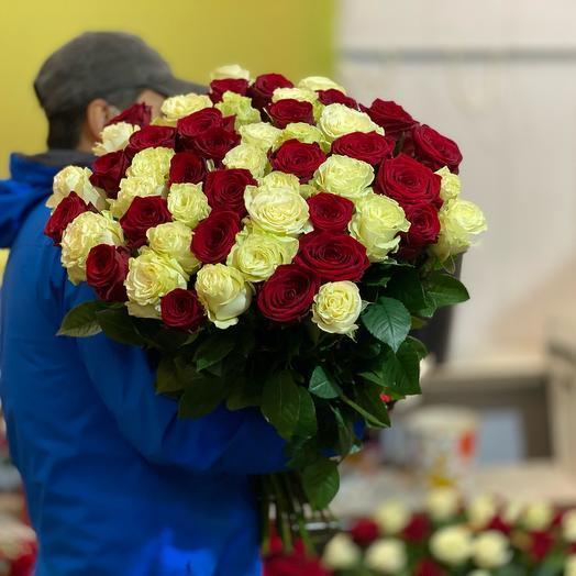 Эквадорские розы микс