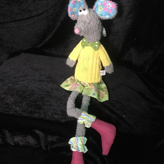 Игрушка Задумчивая мышь Глафира