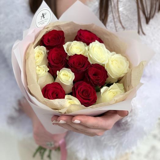 Букет из 15 роз Кения