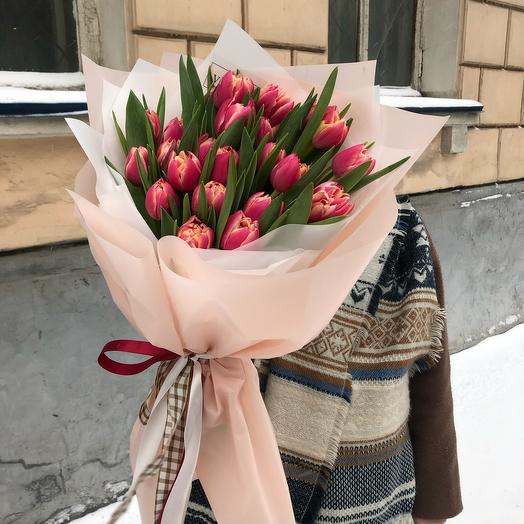 тюльпаны пионовидные🌷🌷🌷
