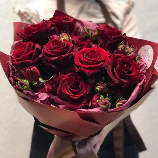 Цветочный букет 54