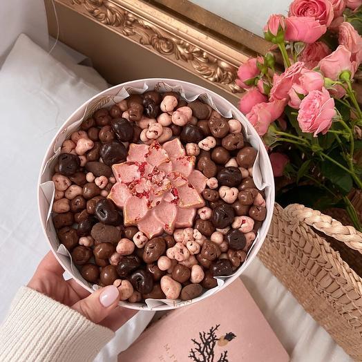 Ассорти драже из бельгийского шоколада «Цветок»