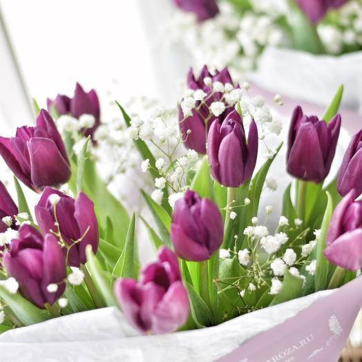 Черничные Тюльпаны