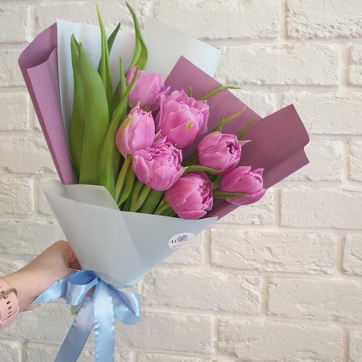 Тюльпаны пион