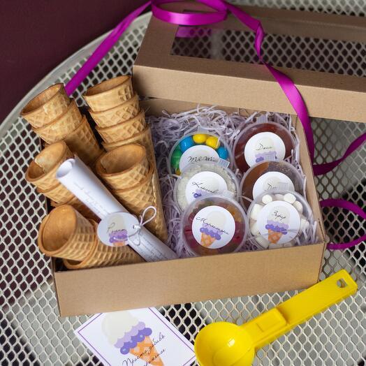 Подарочный набор «Просто добавь мороженое»
